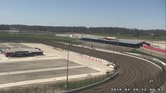 view from Eldora Speedway on 2018-04-20