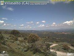 view from Villasalto on 2018-05-12