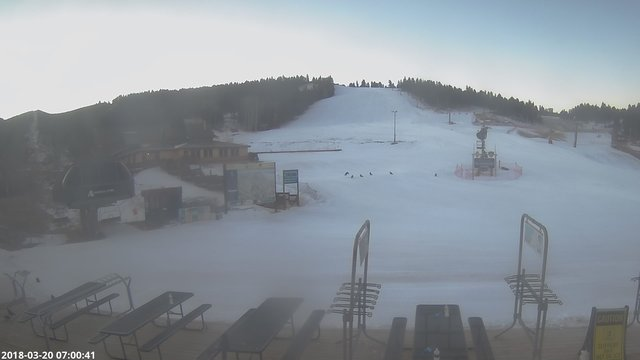 time-lapse frame, Angel Fire Resort - Base webcam
