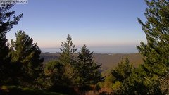 view from Kings Mountain on 2018-02-08