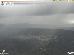 view from Monte Lusei Seui on 2018-03-17