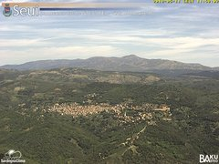 view from Monte Lusei Seui on 2018-05-11