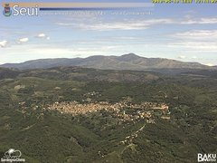 view from Monte Lusei Seui on 2018-05-19