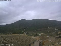 view from Benillup - Serra d'Almudaina on 2018-02-12
