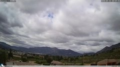 view from Gaianes - El Comtat on 2018-04-11