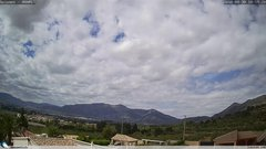 view from Gaianes - El Comtat on 2018-04-30
