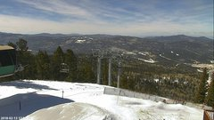 view from Angel Fire West View on 2018-02-13