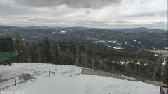 view from Angel Fire West View on 2018-02-16