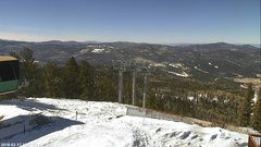 view from Angel Fire West View on 2018-02-17
