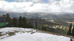 view from Angel Fire West View on 2018-02-19