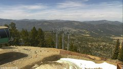 view from Angel Fire West View on 2018-04-11