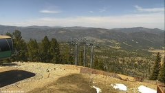view from Angel Fire West View on 2018-04-19