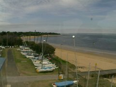 view from Cowes Yacht Club - West on 2018-02-05