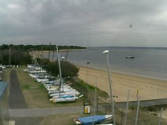 view from Cowes Yacht Club - West on 2018-02-21