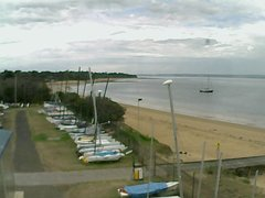 view from Cowes Yacht Club - West on 2018-02-23