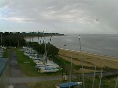 view from Cowes Yacht Club - West on 2018-04-12