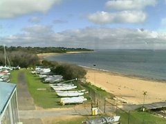 view from Cowes Yacht Club - West on 2018-06-18