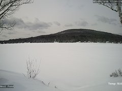 view from Neal Pond on 2018-02-09