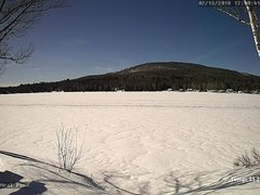 view from Neal Pond on 2018-02-13
