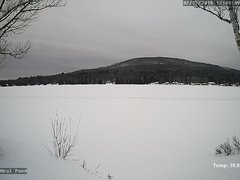 view from Neal Pond on 2018-02-15