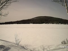 view from Neal Pond on 2018-02-17