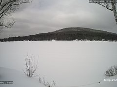 view from Neal Pond on 2018-03-16