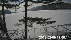 view from Bluffhead Hullets Landing, NY on 2018-02-06