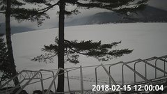 view from Bluffhead Hullets Landing, NY on 2018-02-15