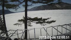 view from Bluffhead Hullets Landing, NY on 2018-03-26