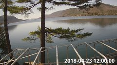 view from Bluffhead Hullets Landing, NY on 2018-04-23