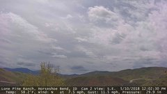 view from Horseshoe Bend, Idaho CAM2 on 2018-05-10