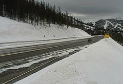 view from 4 - Highway 50 Road Conditions on 2018-02-05
