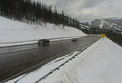 view from 4 - Highway 50 Road Conditions on 2018-03-15