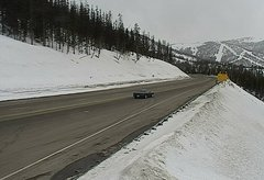 view from 4 - Highway 50 Road Conditions on 2018-03-18