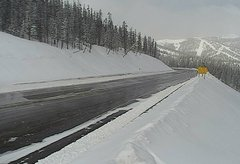 view from 4 - Highway 50 Road Conditions on 2018-03-19