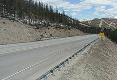 view from 4 - Highway 50 Road Conditions on 2018-05-15