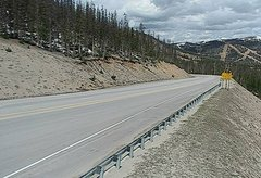 view from 4 - Highway 50 Road Conditions on 2018-05-21