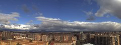 view from LOGROÑO SUR on 2018-02-21
