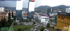 view from Sarajevo on 2018-06-13