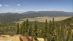 view from Angel Fire Valley on 2018-05-13