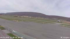 view from Mifflin County Airport (west) on 2018-04-21