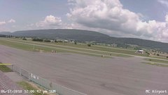 view from Mifflin County Airport (west) on 2018-06-17