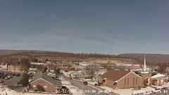 view from Highland Park Hose Co. #1 on 2018-02-12
