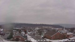 view from Highland Park Hose Co. #1 on 2018-02-19