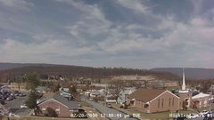 view from Highland Park Hose Co. #1 on 2018-02-20