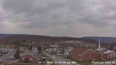 view from Highland Park Hose Co. #1 on 2018-04-11