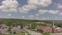 view from Highland Park Hose Co. #1 on 2018-05-21