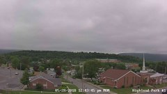 view from Highland Park Hose Co. #1 on 2018-05-28
