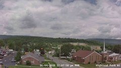view from Highland Park Hose Co. #1 on 2018-06-04