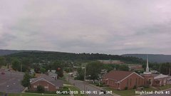 view from Highland Park Hose Co. #1 on 2018-06-09